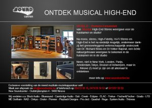 New Soundcenter Musical High-End Hifi